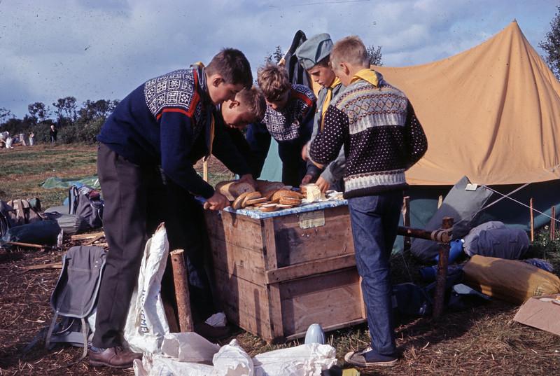 Landsleir i Bodø og i 1966 (tror jeg)