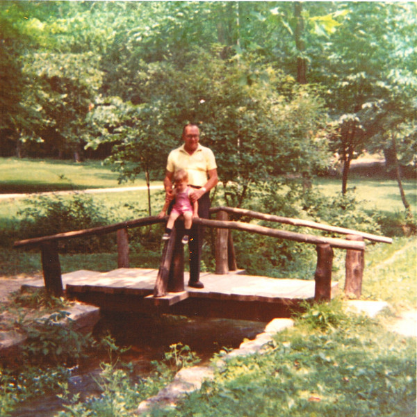 """Spring Mill State Park Pioneer Village - 1970<br /> <br /> This is an old family photo of me at Spring Mill with my grandpa (my mom's dad) when I was a little over two years old.<br /> <br />  <a href=""""http://www.in.gov/dnr/parklake/2968.htm"""">http://www.in.gov/dnr/parklake/2968.htm</a><br />  <a href=""""http://en.wikipedia.org/wiki/Spring_Mill_State_Park"""">http://en.wikipedia.org/wiki/Spring_Mill_State_Park</a>"""