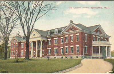 Springfield Old Ladies Home 1910