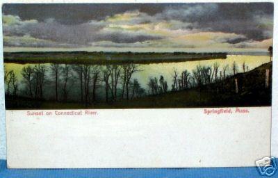 Springfield Sunset on Ct 1901-07