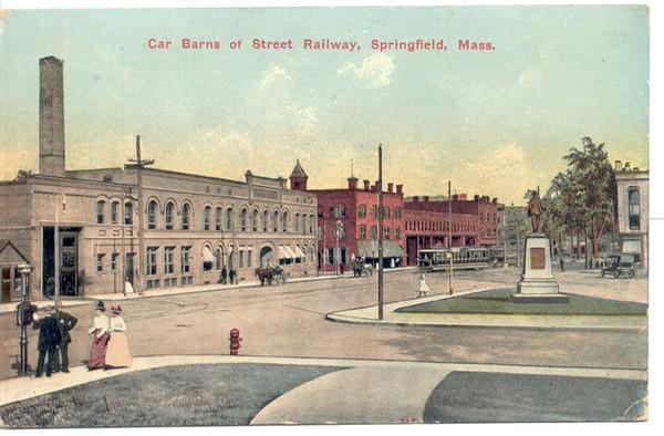 Springfield St RR Car Barns