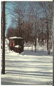 Springfield Trolley snow plow