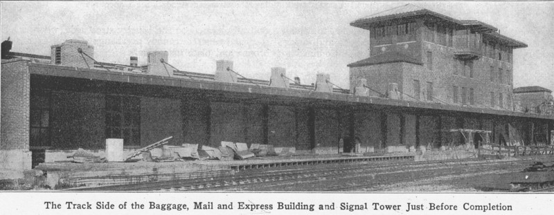 Springfield Track Side RR Station
