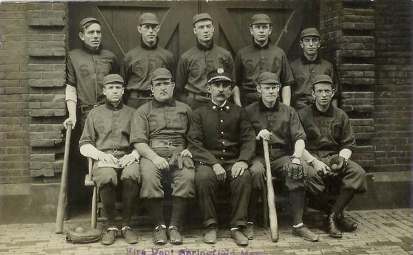 Springfield Fire Dept Baseball Team