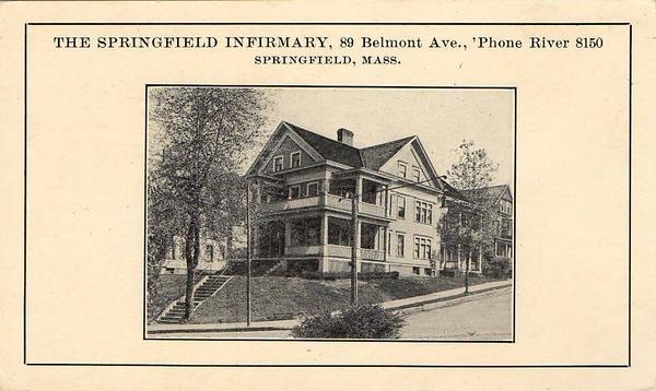 Springfield Imfirmary 89 Belmont Ave