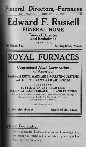 Springfield Directory Ads 1928 080