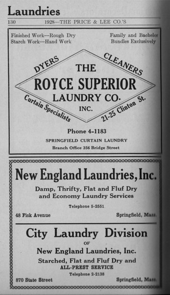 Springfield Directory Ads 1928 103