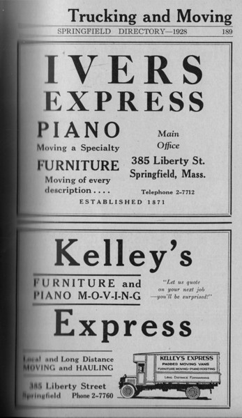Springfield Directory Ads 1928 162