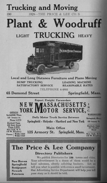 Springfield Directory Ads 1928 163