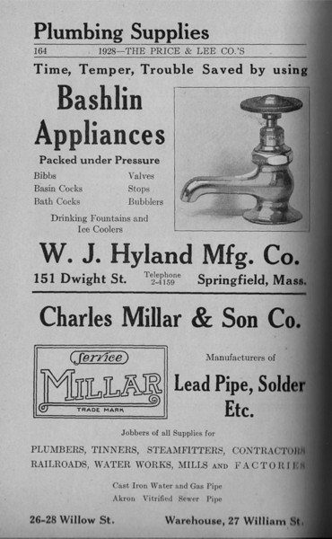 Springfield Directory Ads 1928 137