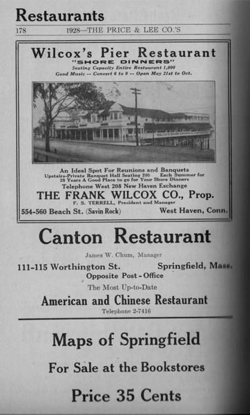 Springfield Directory Ads 1928 151