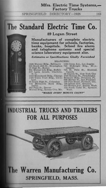 Springfield Directory Ads 1928 116