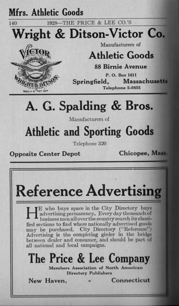 Springfield Directory Ads 1928 113