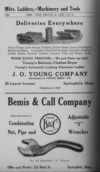Springfield Directory Ads 1928 119