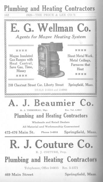 Springfield Directory Ads 1928 135