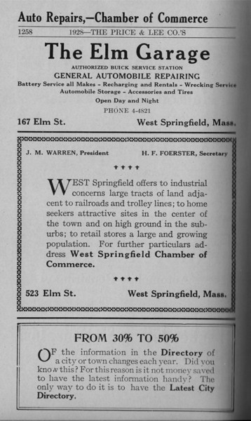 Springfield W S Directory Ads 1928 02