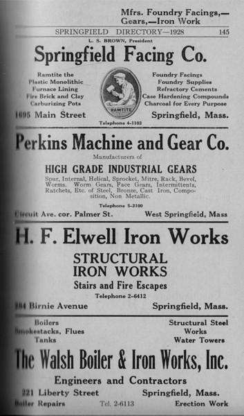 Springfield Directory Ads 1928 118