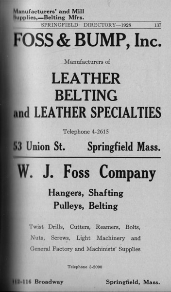 Springfield Directory Ads 1928 110