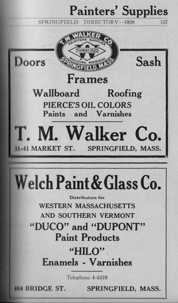 Springfield Directory Ads 1928 129