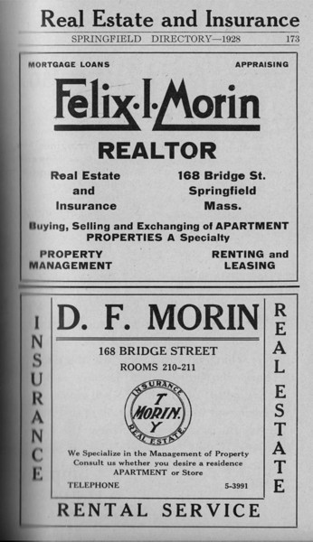 Springfield Directory Ads 1928 146