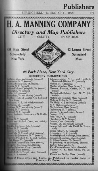 Springfield Directory Ads 1928 144