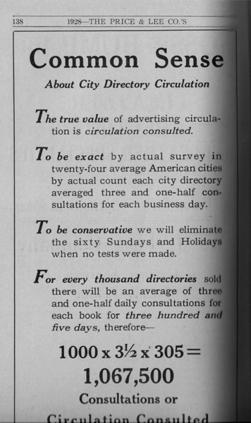 Springfield Directory Ads 1928 111