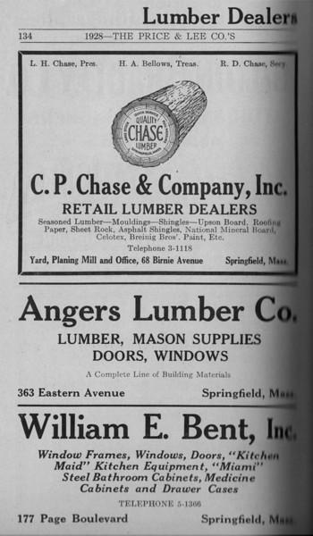 Springfield Directory Ads 1928 107