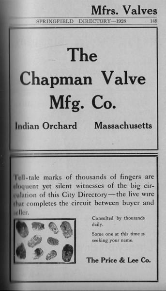Springfield Directory Ads 1928 122