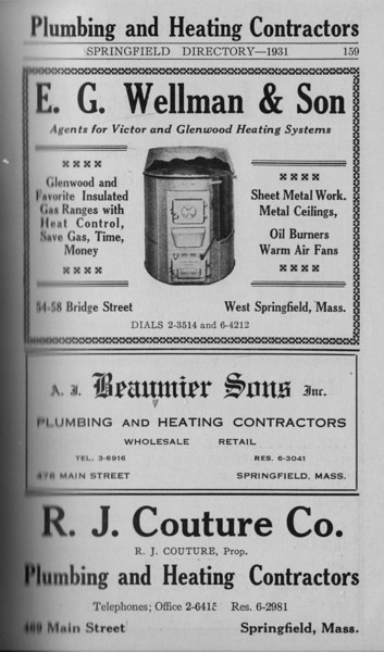 Springfield Directory Ads 1931 148