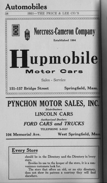Springfield Directory Ads 1931 020