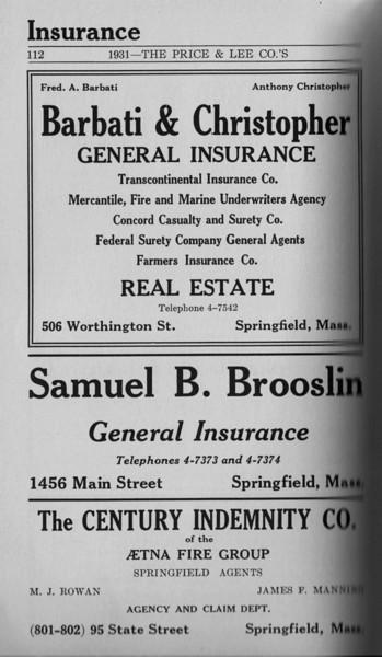 Springfield Directory Ads 1931 096