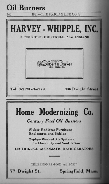 Springfield Directory Ads 1931 133