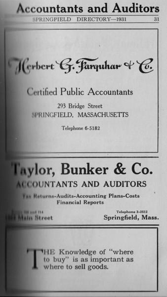 Springfield Directory Ads 1931 009