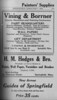 Springfield Directory ads 1931 140