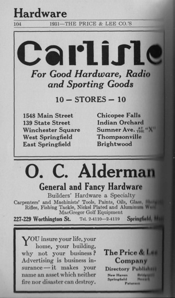 Springfield Directory Ads 1931 088