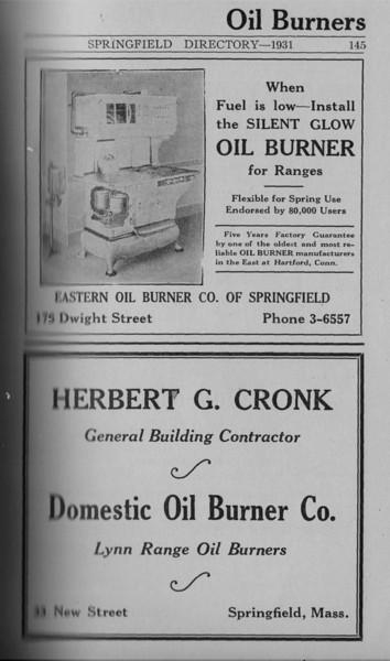 Springfield Directory Ads 1931 132
