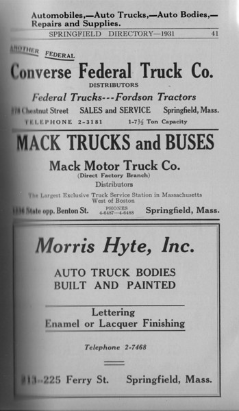 Springfield Directory Ads 1931 023
