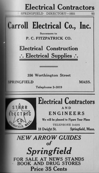 Springfield Directory Ads 1931 077