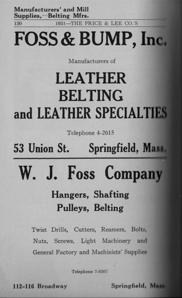 Springfield Directory Ads 1931 115