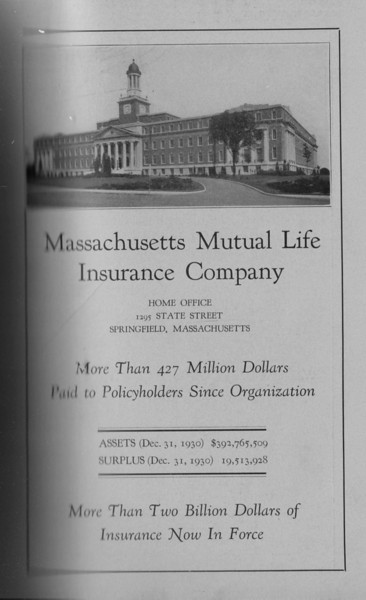 Springfield Directory Ads 1931 180