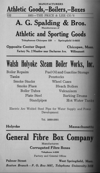 Springfield Directory Ads 1931 117