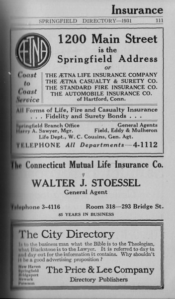 Springfield Directory Ads 1931 095