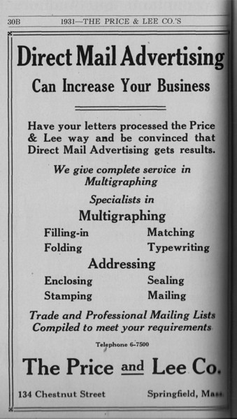 Springfield Directory Ads 1931 008