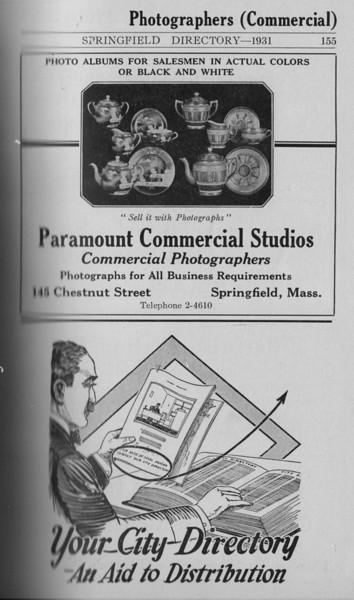 Springfield Directory Ads 1931 144
