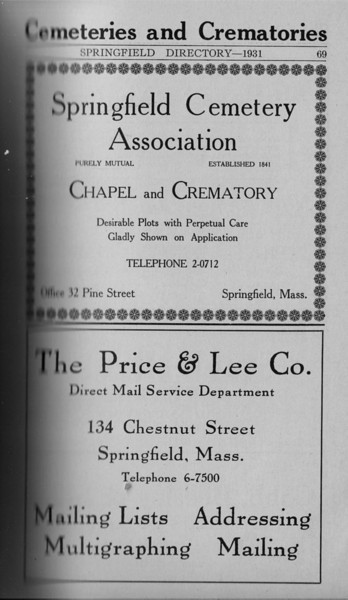 Springfield Directory Ads 1931 051