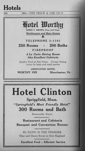 Springfield Directory Ads 1931 090