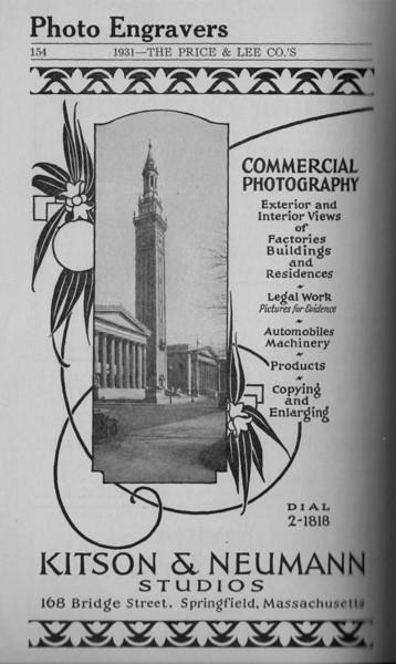 Springfield Directory Ads 1931 141