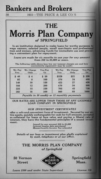 Springfield Directory Ads 1931 040