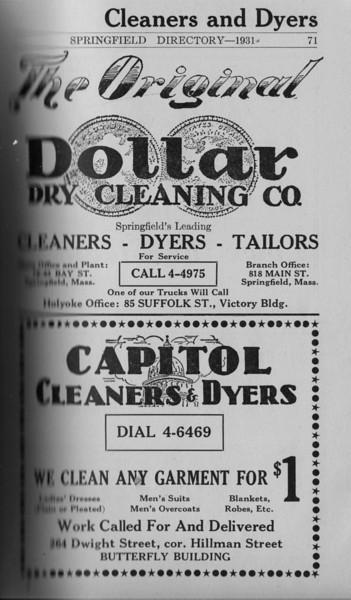 Springfield Directory Ads 1931 053
