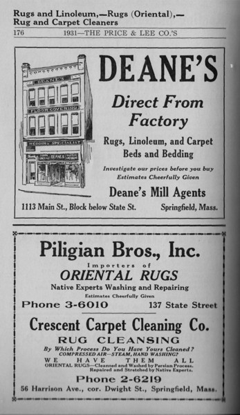 Springfield Directory Ads 1931 165